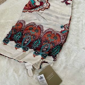 Chico's paisley square scarf (NWT)